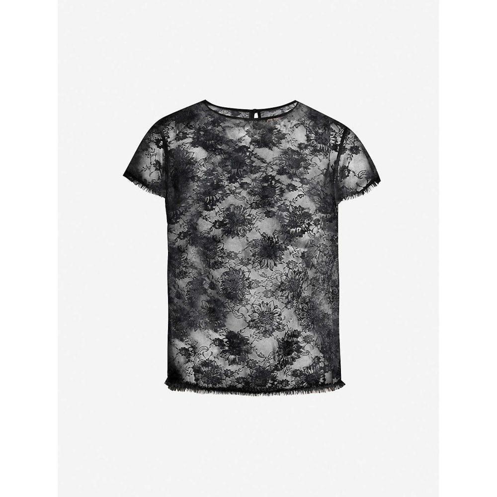 マイラ MYLA レディース インナー・下着 パジャマ・トップのみ【Sunbury Street mesh T-shirt】Black
