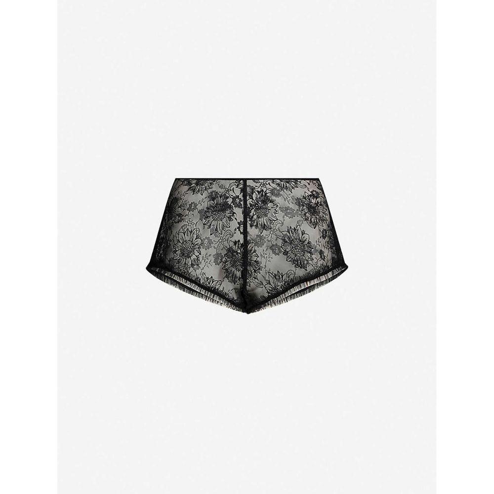 マイラ MYLA レディース インナー・下着 パジャマ・ボトムのみ【Sunbury Street mesh shorts】Black