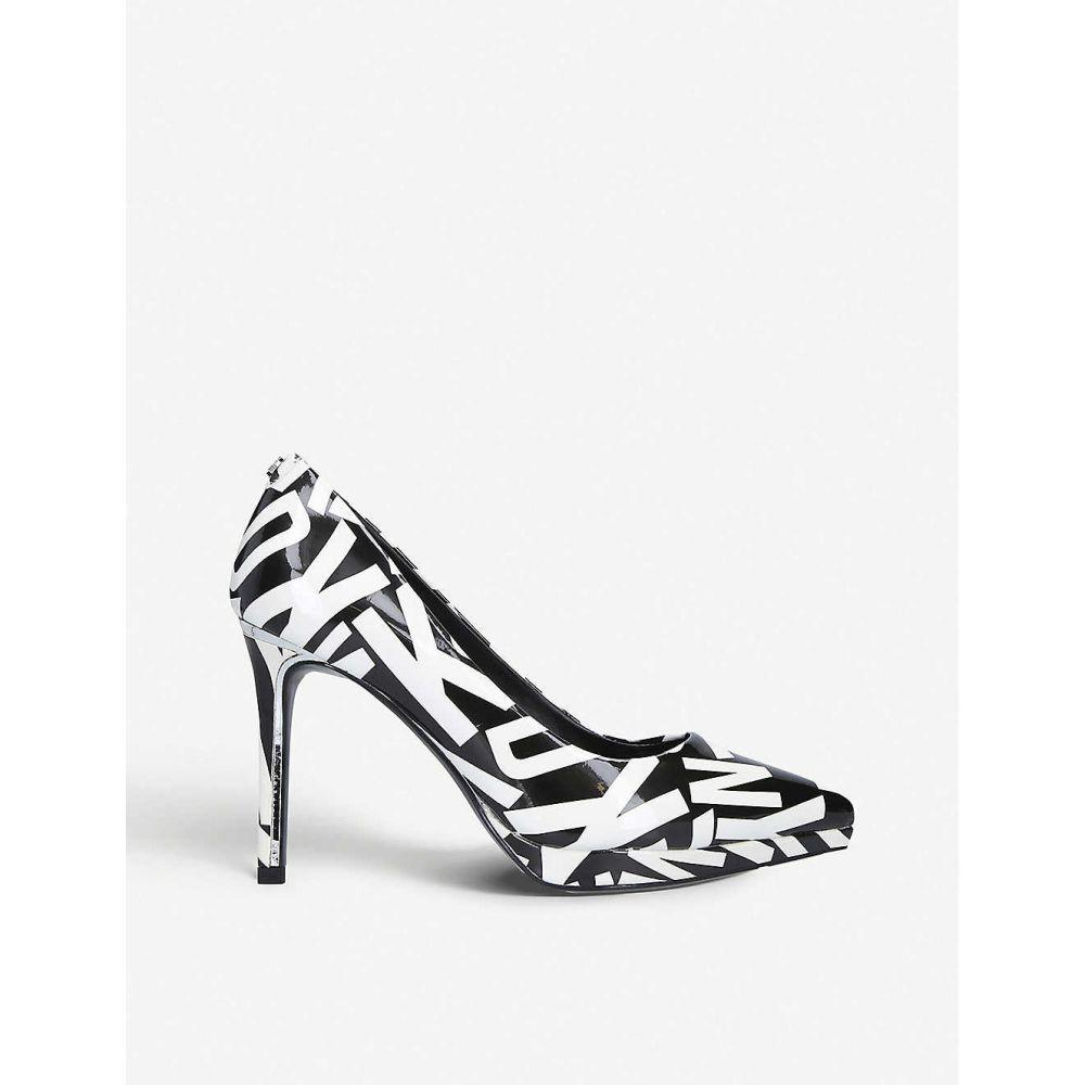 ダナ キャラン ニューヨーク DKNY レディース パンプス シューズ・靴【lexi leather heeled courts】Blk/white