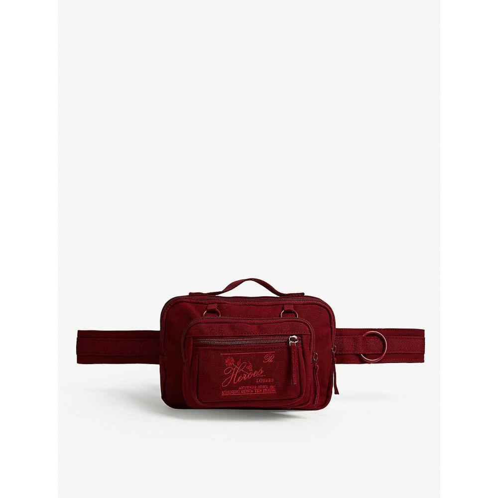イーストパック EASTPAK メンズ ボディバッグ・ウエストポーチ バッグ【raf simmons nylon belt bag】Burgundy