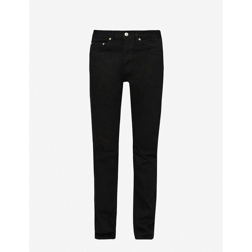 サンドロ SANDRO メンズ ジーンズ・デニム ボトムス・パンツ【straight slim-fit jeans】Black