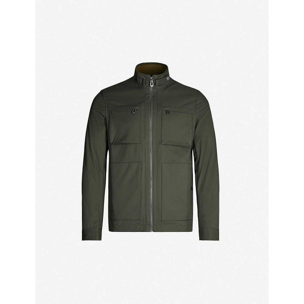 テッドベーカー TED BAKER メンズ ジャケット シェルジャケット アウター【patch-pocket shell field jacket】Khaki