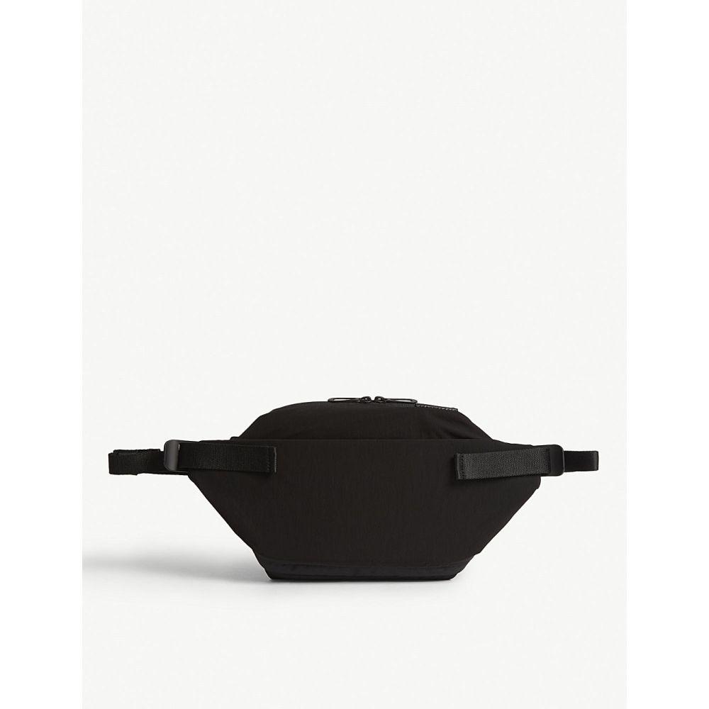 コート エ シエル COTE & CIEL メンズ ボディバッグ・ウエストポーチ バッグ【isarau s memory tech belt bag】Black