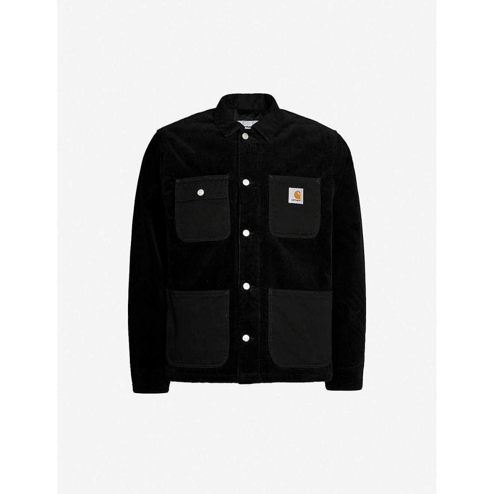 カーハート CARHARTT WIP メンズ ジャケット アウター【michigan relaxed-fit corduroy jacket】Black