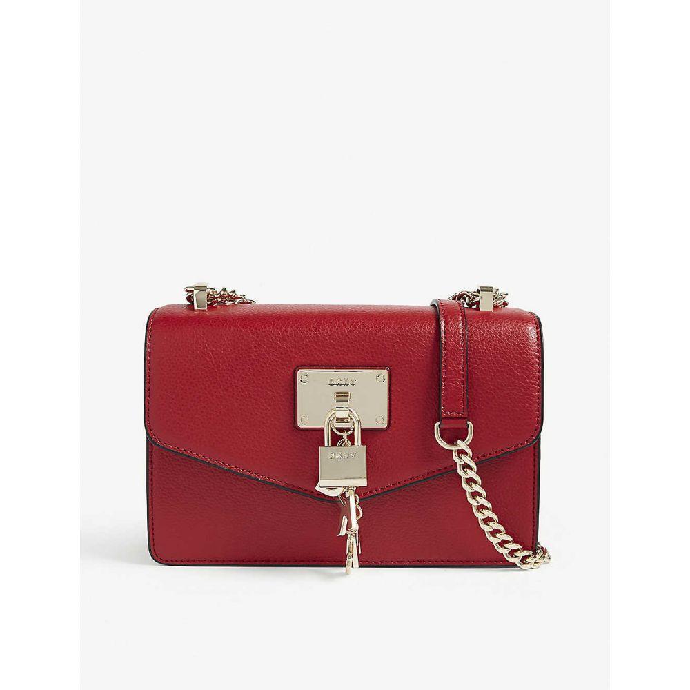 ダナ キャラン ニューヨーク DKNY レディース ショルダーバッグ バッグ【elissa small leather shoulder bag】Bright red