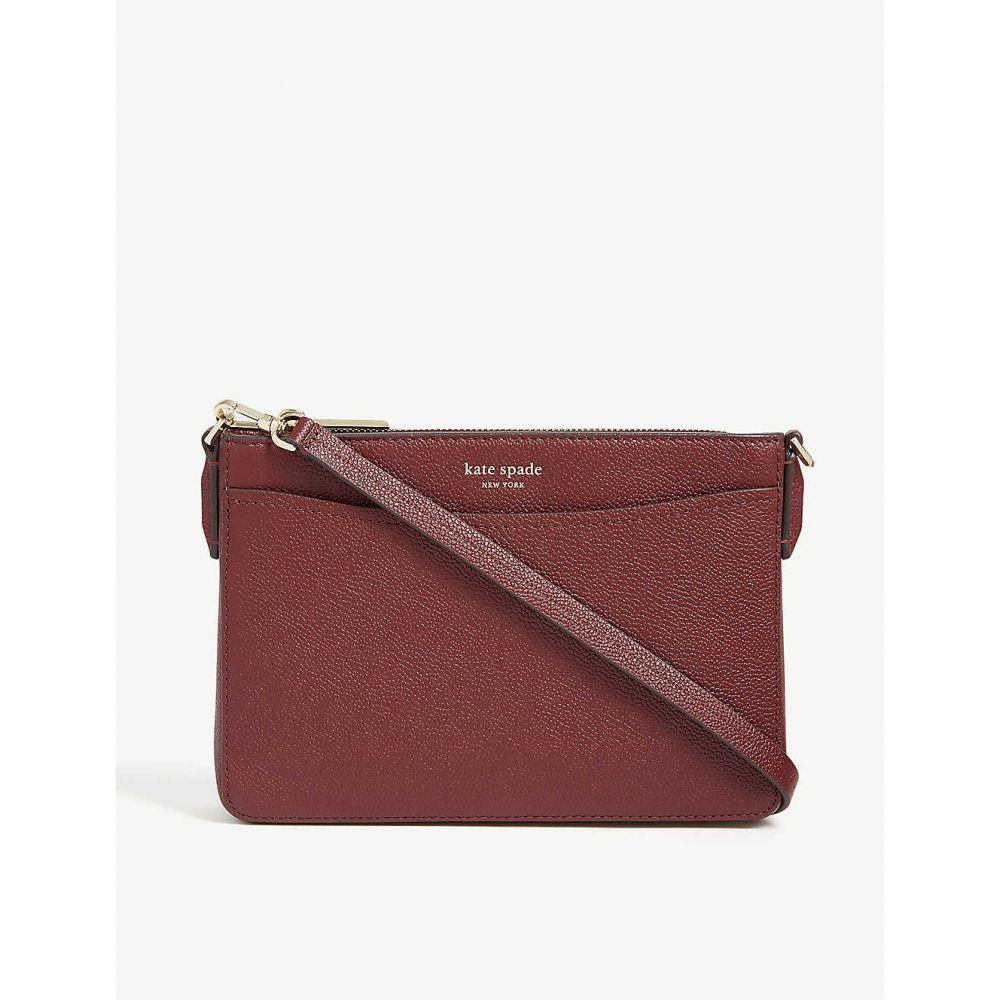 ケイト スペード KATE SPADE NEW YORK レディース ショルダーバッグ バッグ【margaux leather cross-body bag】Cherrywood