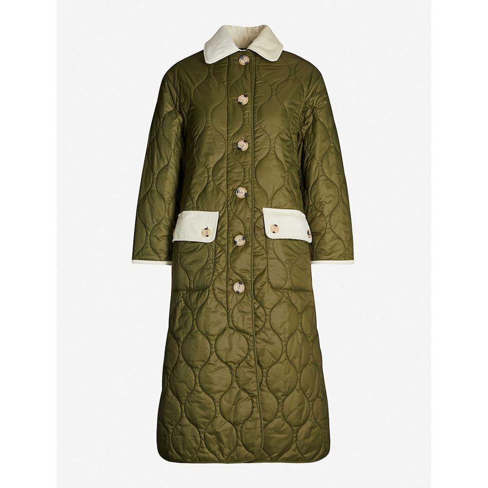 バブアー BARBOUR レディース コート アウター【x alexachung annie shell coat】Military green