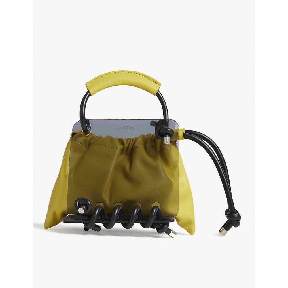 スコトリア SCOTRIA レディース トートバッグ バッグ【berg tote bag】Canary & black