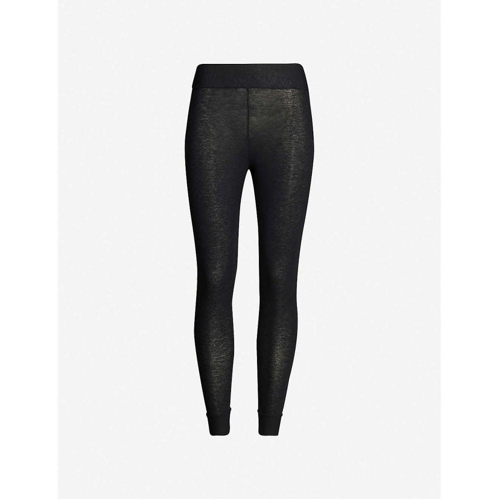 コマンドー COMMANDO レディース スパッツ・レギンス インナー・下着【High-rise modal-blend leggings】Black