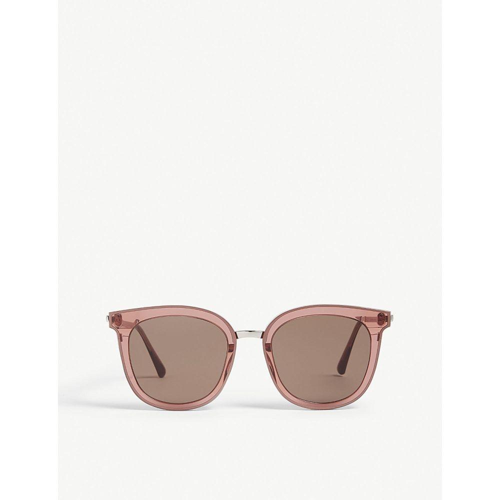 ジェントルモンスター GENTLE MONSTER レディース メガネ・サングラス スクエアフレーム【Slow Slowly square-frame sunglasses】Brown