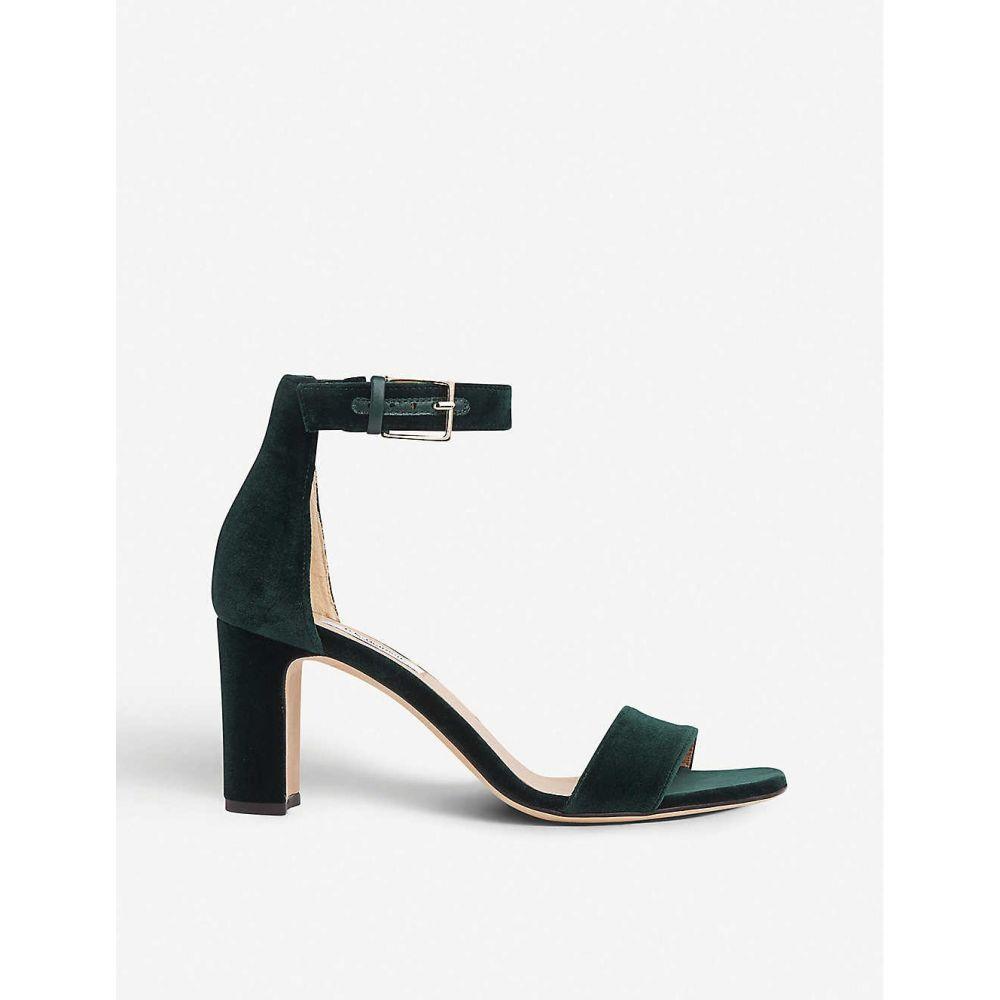 エルケーベネット LK BENNETT レディース サンダル・ミュール シューズ・靴【Nora velvet heeled sandals】Gre-forest