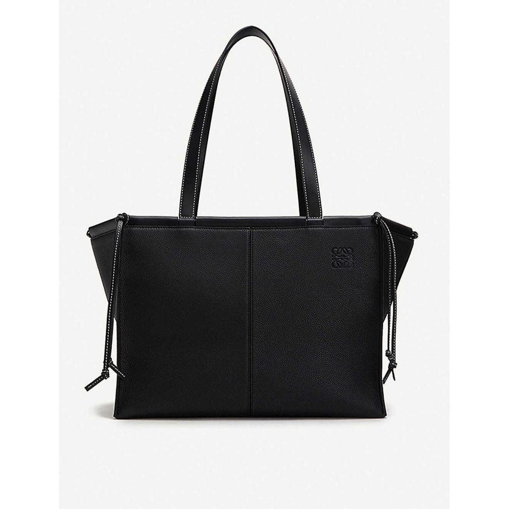 ロエベ LOEWE レディース トートバッグ バッグ【Cushion leather tote bag】Black