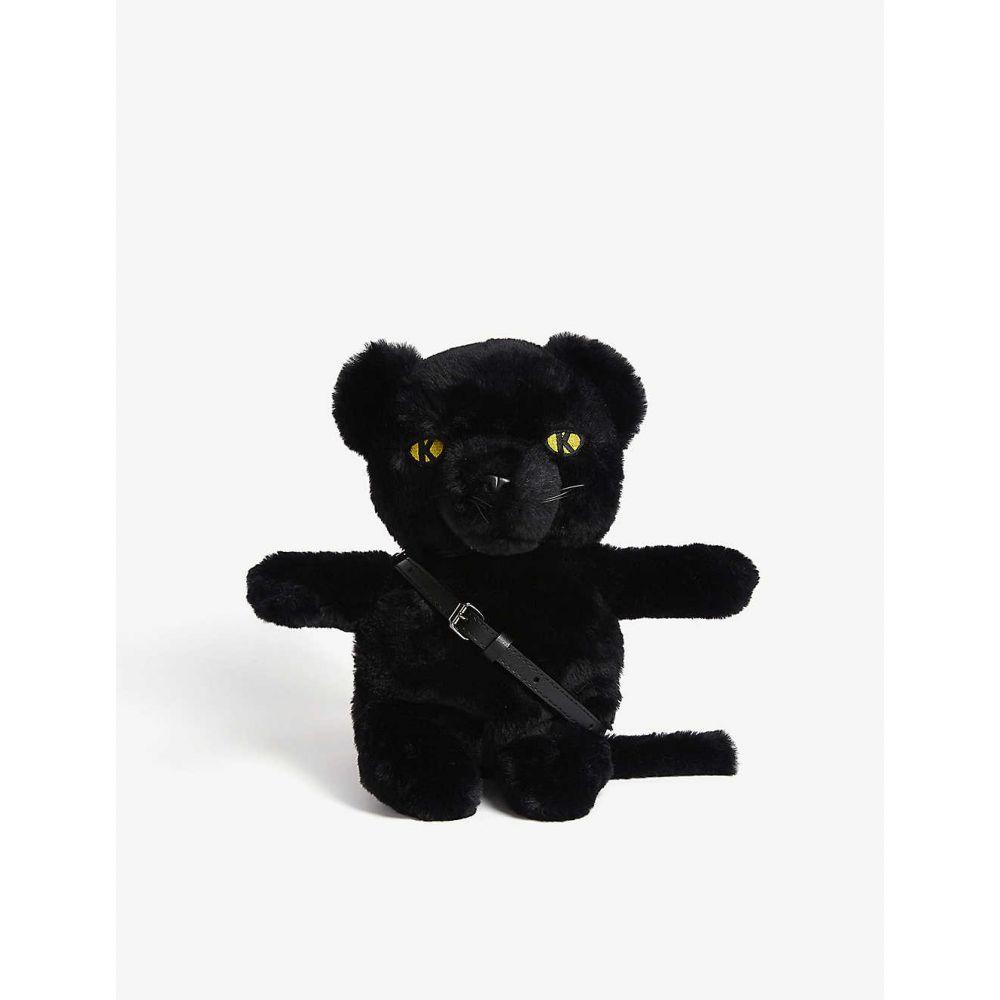 カール ラガーフェルド KARL ACCORDING TO CARINE レディース ショルダーバッグ バッグ【Karl x Carine panther toy handbag】A Black