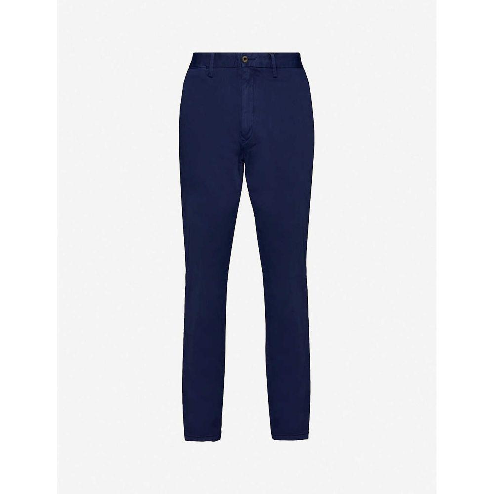 トミー ヒルフィガー TOMMY HILFIGER メンズ ボトムス・パンツ 【Denton straight cotton-blend trousers】Navy