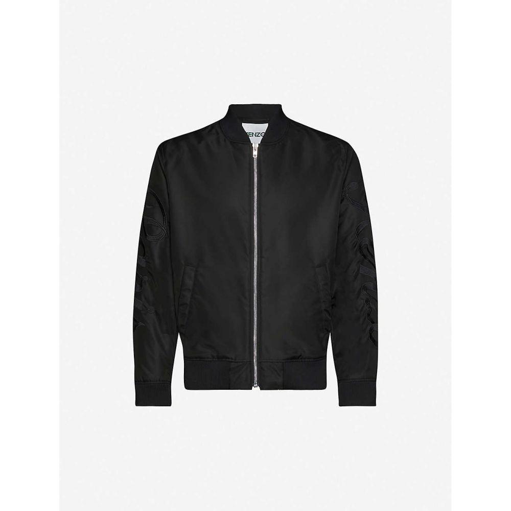 ケンゾー KENZO メンズ ブルゾン ミリタリージャケット シェルジャケット アウター【Paris collared shell bomber jacket】Black