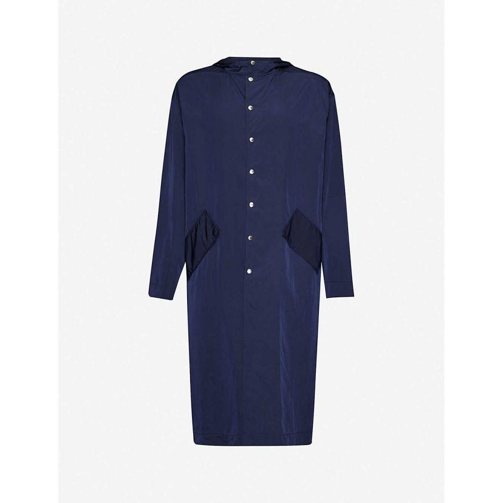 ケンゾー KENZO メンズ ジャケット シェルジャケット アウター【Brand-embroidered relaxed-fit shell jacket】MIDNIGHT BLUE