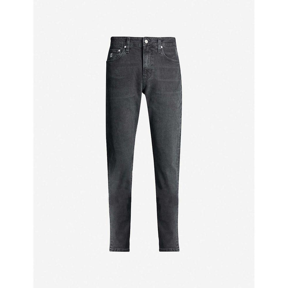 カルバンクライン CK JEANS メンズ ジーンズ・デニム ボトムス・パンツ【058 high-rise tapered jeans】Black