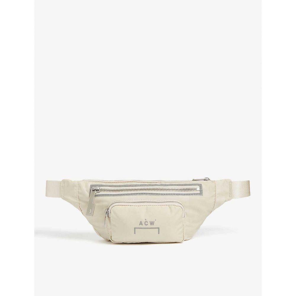 アコールドウォール A-COLD-WALL メンズ ボディバッグ・ウエストポーチ バッグ【Printed nylon belt bag】BONE