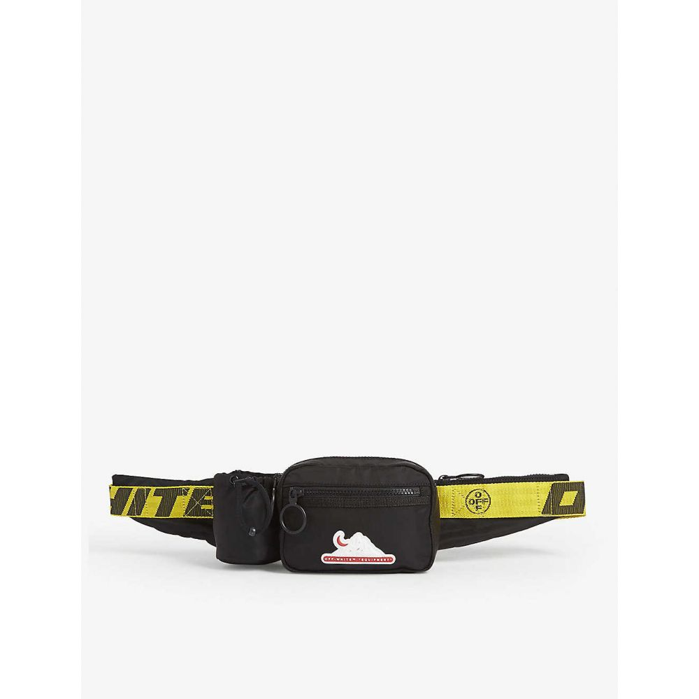 オフホワイト OFF-WHITE C/O VIRGIL ABLOH メンズ ボディバッグ・ウエストポーチ バッグ【Equipment nylon belt bag】BLACK