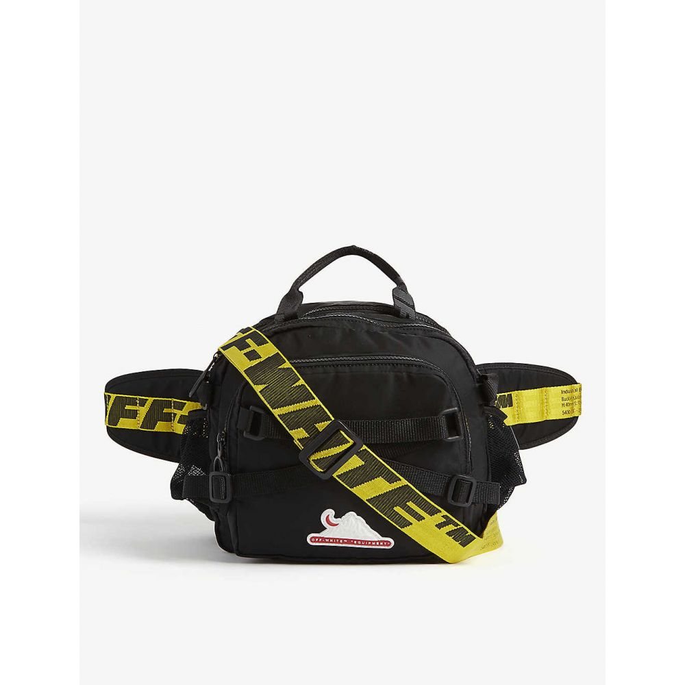 オフホワイト OFF-WHITE C/O VIRGIL ABLOH メンズ ボディバッグ・ウエストポーチ バッグ【Equipment belt bag】BLACK