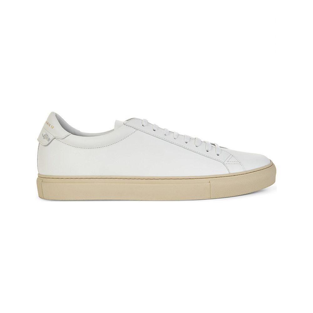 ジバンシー GIVENCHY メンズ スニーカー レースアップ シューズ・靴【Knot leather lace-up trainers】WHITE