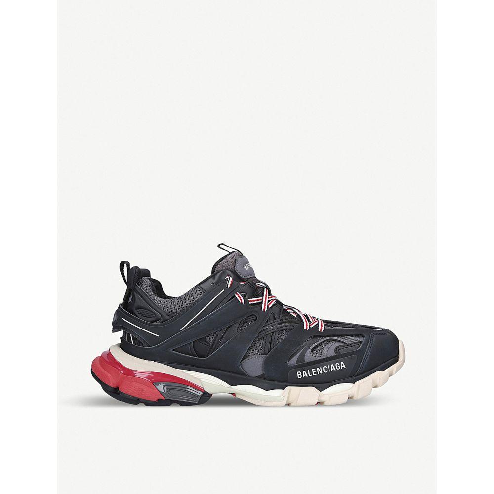 バレンシアガ BALENCIAGA メンズ スニーカー シューズ・靴【Track nylon and mesh trainers】BLK/RED
