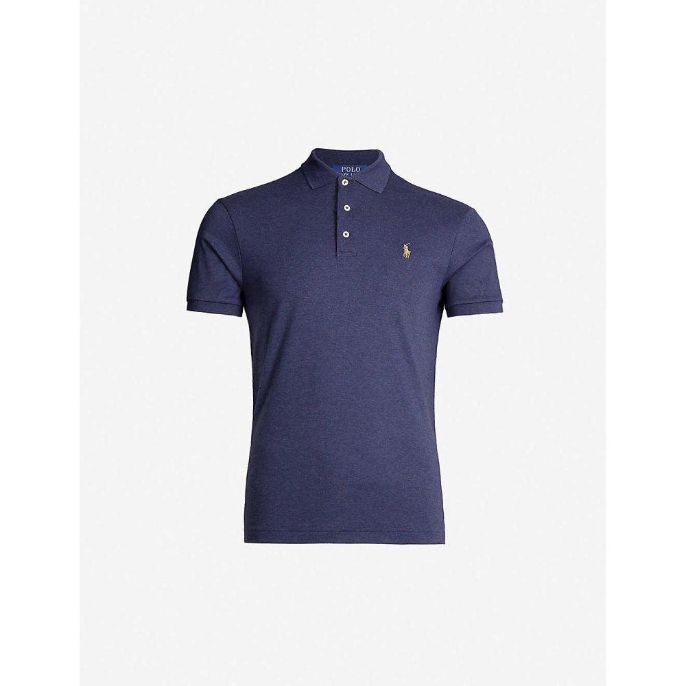 ラルフ ローレン POLO RALPH LAUREN メンズ ポロシャツ トップス【Slim-fit cotton-jersey polo shirt】Spring nvy