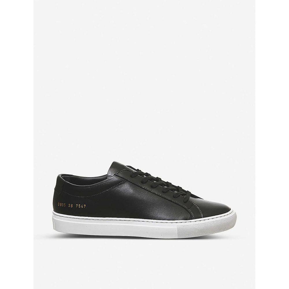 コモン プロジェクト COMMON PROJECTS メンズ スニーカー シューズ・靴【Achilles low-top trainers】BLACK WHITE