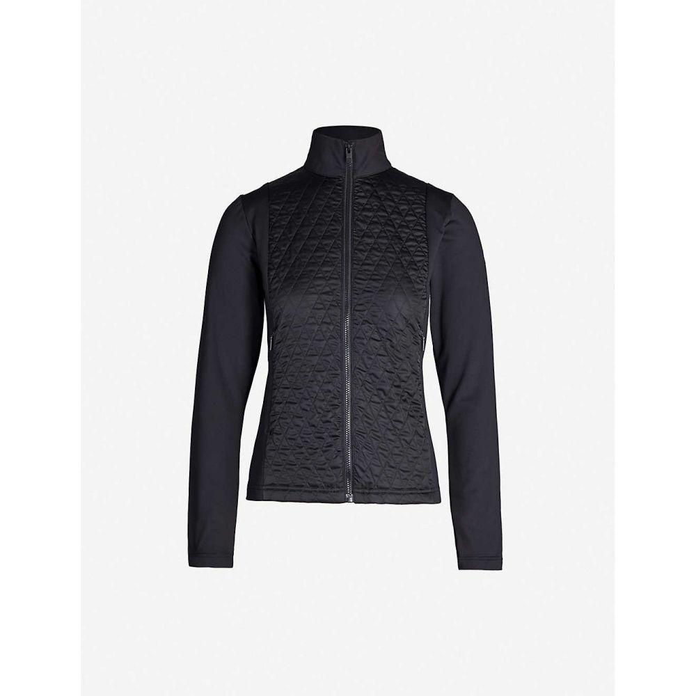 フザルプ FUSALP レディース ダウン・中綿ジャケット アウター【Hermine diamond quilted stretch-shell jacket】Noir