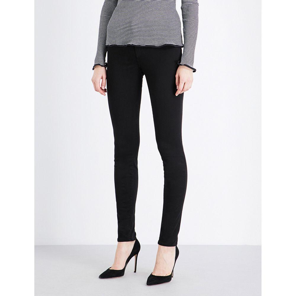 ジェイ ブランド J BRAND レディース ジーンズ・デニム ボトムス・パンツ【485 Luxe Sateen super-skinny mid-rise jeans】BLACK
