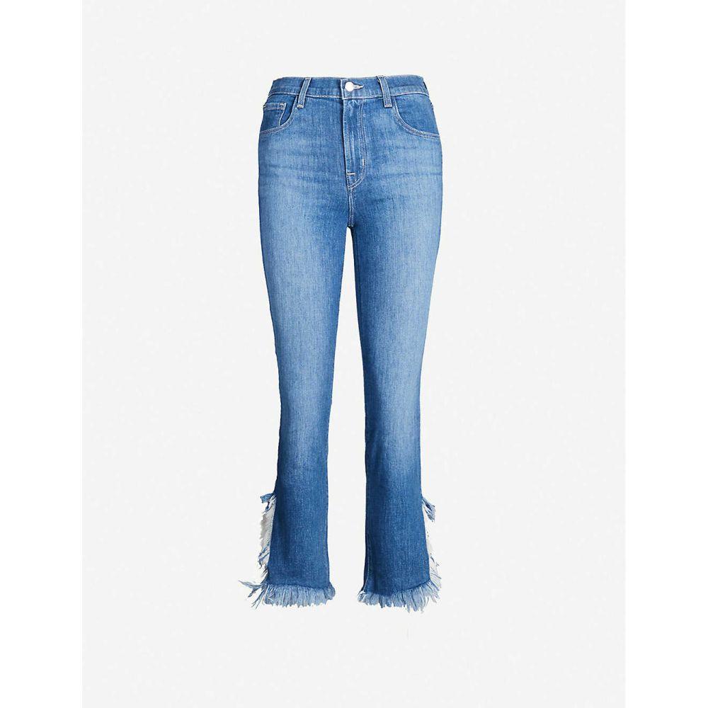 ジェイ ブランド J BRAND レディース ジーンズ・デニム ボトムス・パンツ【Ruby frayed-hem high-rise jeans】Endeavor