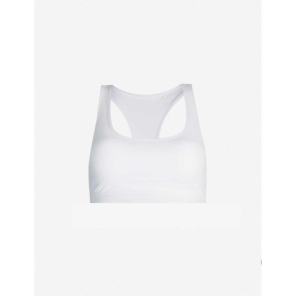 ローナジェーン LORNA JANE レディース スポーツブラ インナー・下着【Comfort stretch-jersey sports bra】White