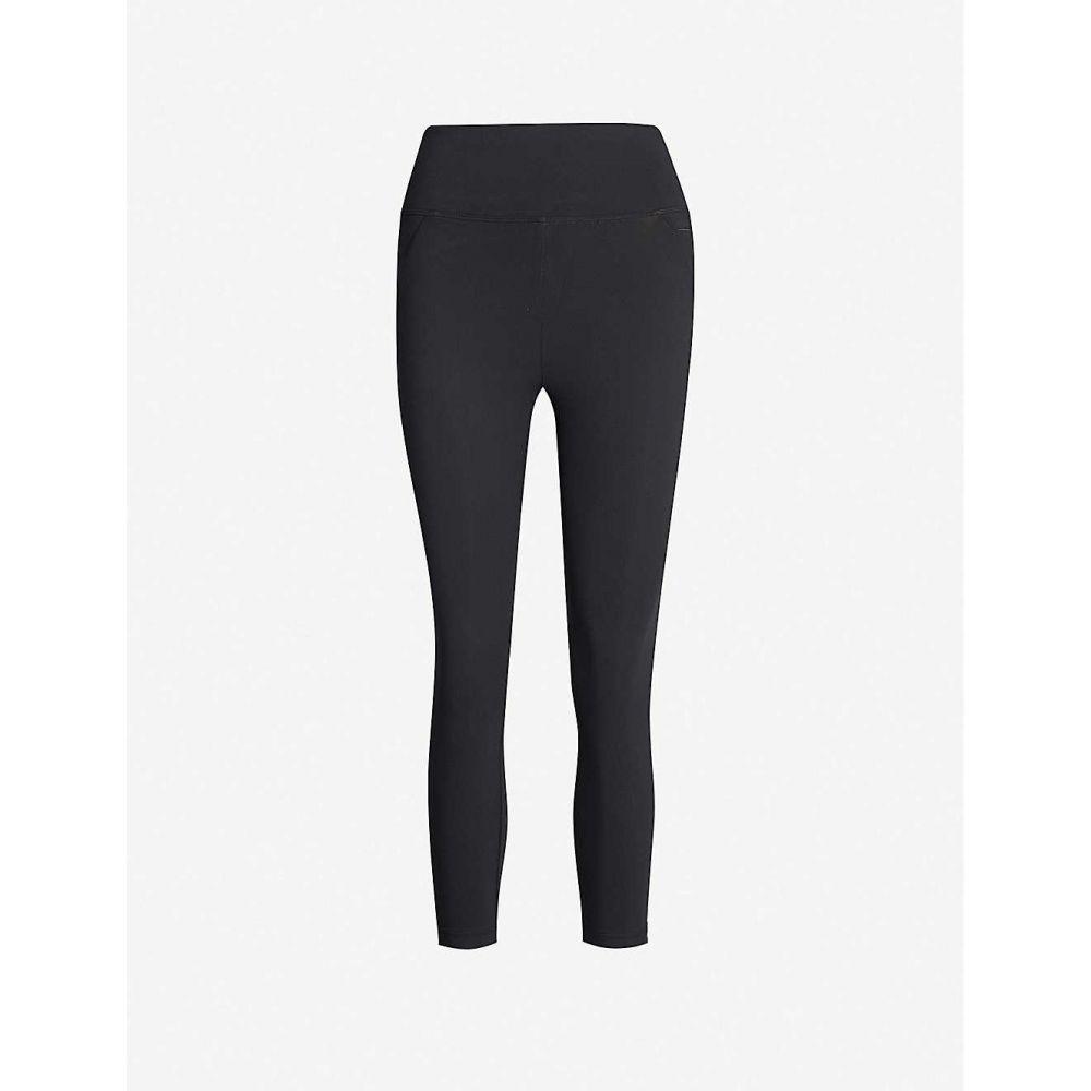 ローナジェーン LORNA JANE レディース スパッツ・レギンス インナー・下着【Amy high-rise cropped stretch-jersey leggings】Black