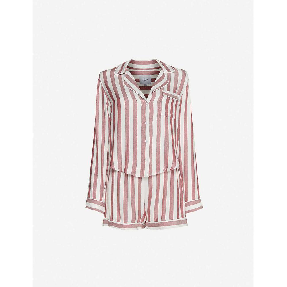 レイルズ RAILS レディース パジャマ・上下セット インナー・下着【Kellen flannel pyjama set】Sedona Stripe