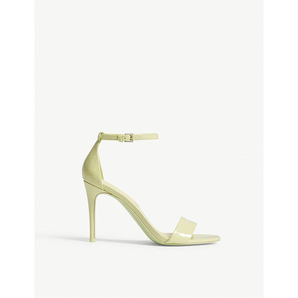 アルド ALDO レディース サンダル・ミュール シューズ・靴【Cally patent sandals】Light green
