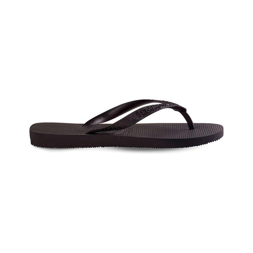 ハワイアナス HAVAIANAS レディース ビーチサンダル シューズ・靴【Top rubber flip-flops】Black