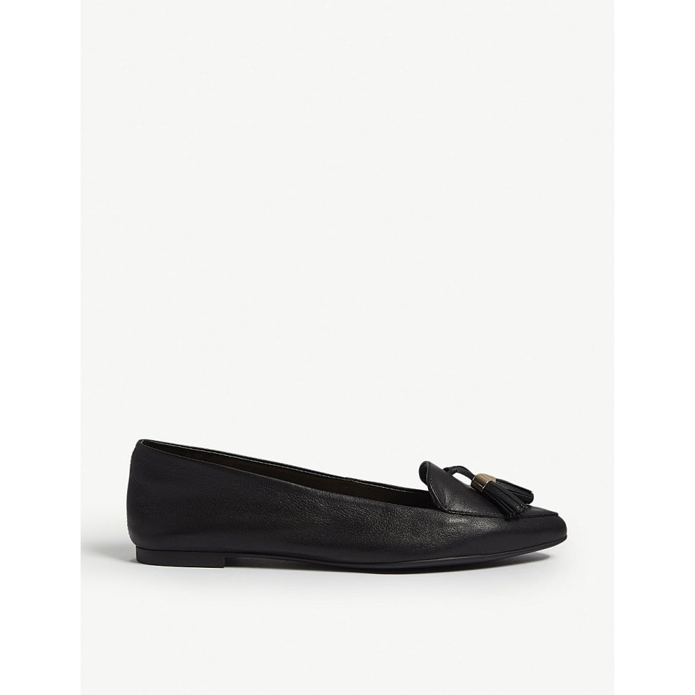 アルド ALDO レディース ローファー・オックスフォード シューズ・靴【Magona leather loafers】Black leather
