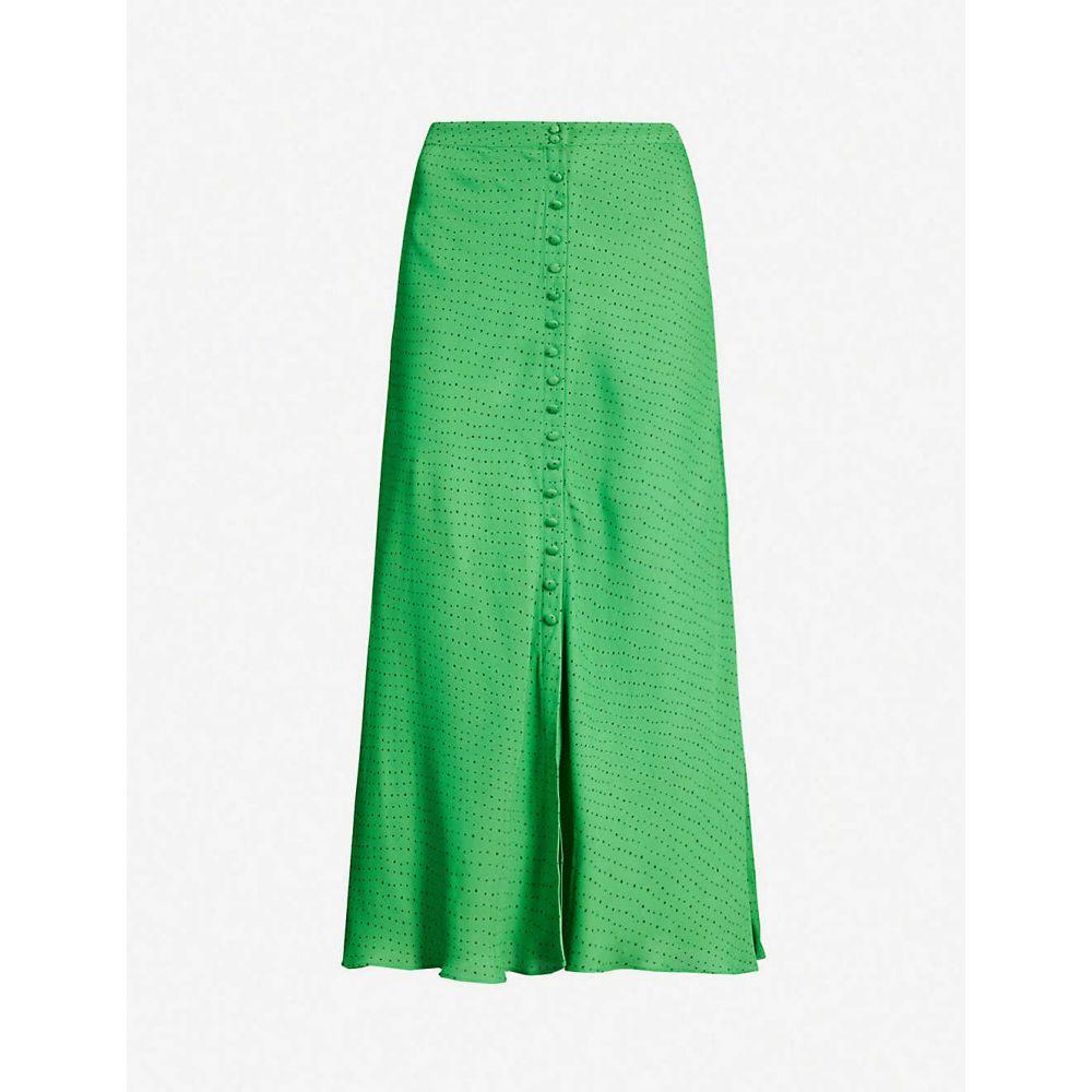ホイッスルズ WHISTLES レディース ひざ丈スカート スカート【Polka dot crepe midi skirt】Multi-coloured