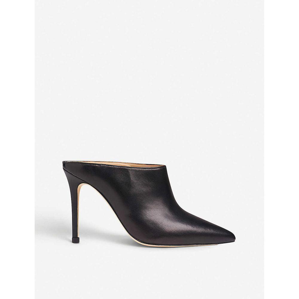 エルケーベネット LK BENNETT レディース サンダル・ミュール シューズ・靴【Hannah leather heeled mules】Bla-black