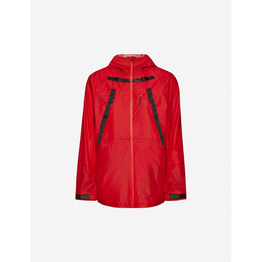 ナイキ NIKE レディース ジャケット ウィンドブレーカー シェルジャケット アウター【Nike x Mathew M Williams shell windbreaker jacket】UNIVERSITY RED