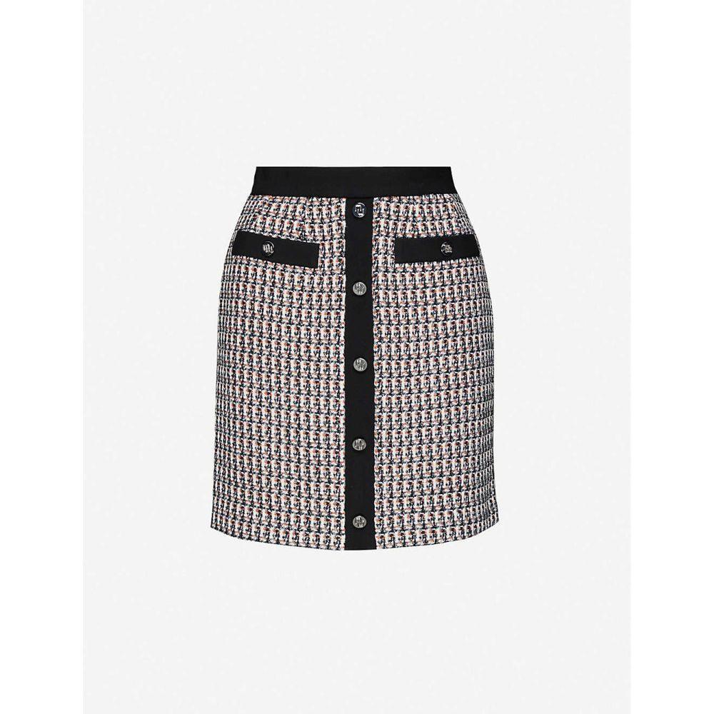 マージュ MAJE レディース ミニスカート スカート【Jivi contrast-trim tweed mini skirt】MULTI COLOURED