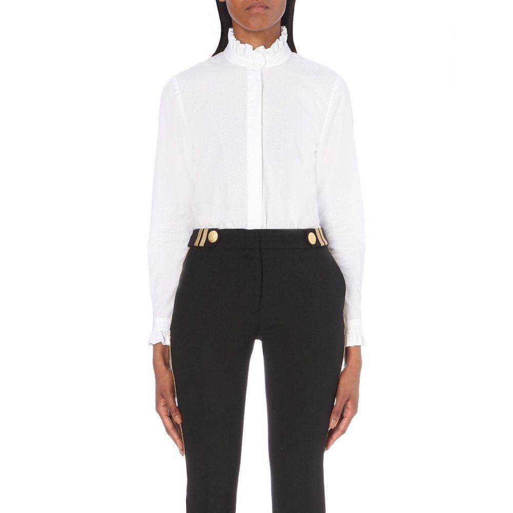 クローディ ピエルロ CLAUDIE PIERLOT レディース ブラウス・シャツ トップス【Colombine cotton shirt】Blanc