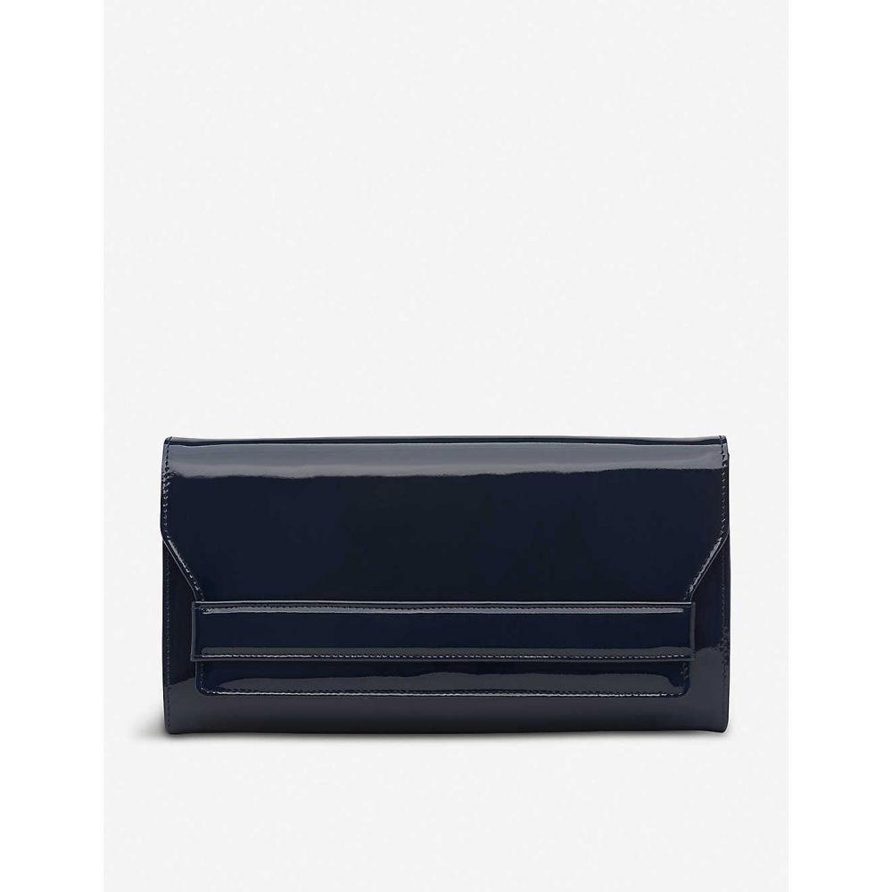 エルケーベネット LK BENNETT レディース クラッチバッグ バッグ【Ella patent-leather clutch】Blu-navy