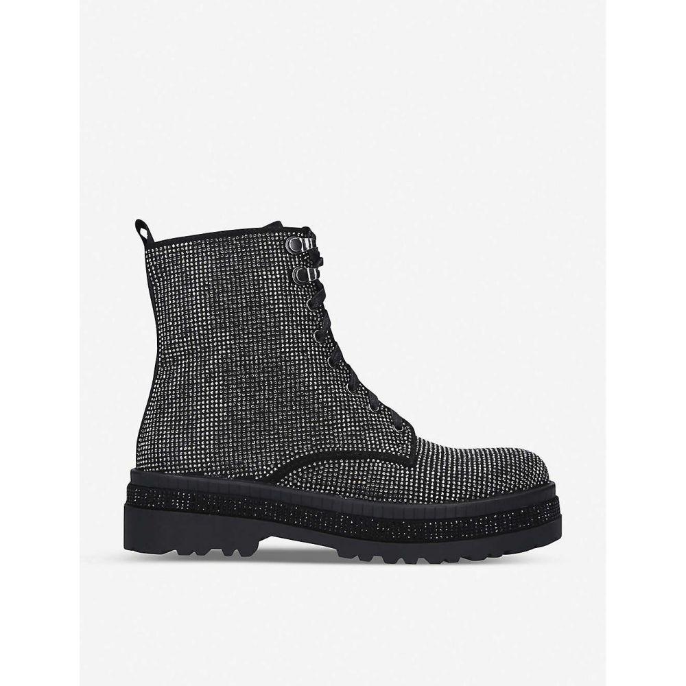 カーベラ CARVELA レディース ブーツ ショートブーツ シューズ・靴【Embellished ankle boots】BLACK