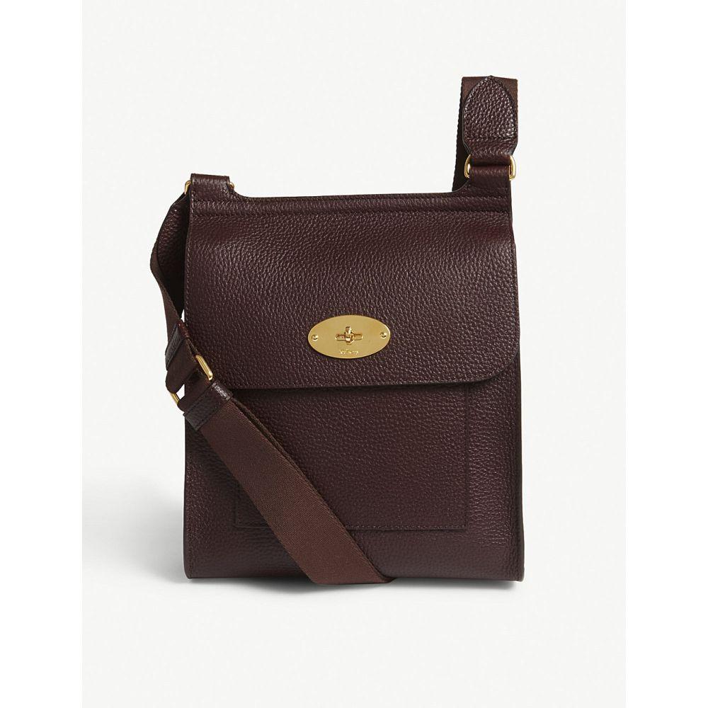 マルベリー MULBERRY レディース ショルダーバッグ メッセンジャーバッグ バッグ【Antony small grained leather messenger bag】Oxblood