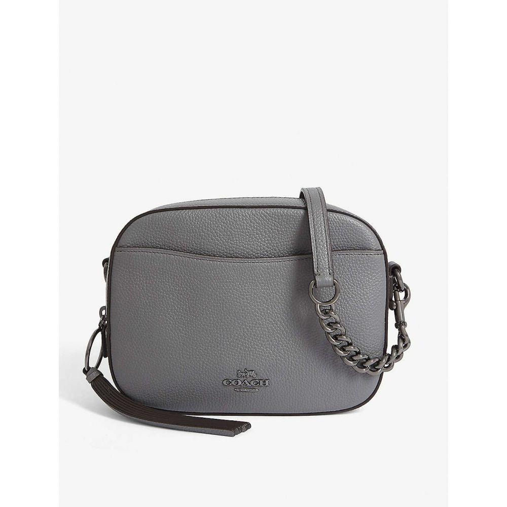 コーチ COACH レディース ショルダーバッグ カメラバッグ バッグ【Leather camera bag】Gm/heather grey