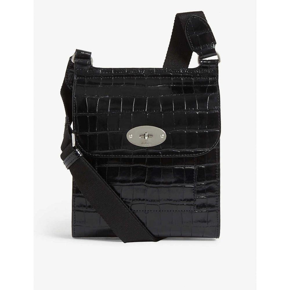 マルベリー MULBERRY レディース ショルダーバッグ メッセンジャーバッグ バッグ【Antony leather small messenger bag】Black