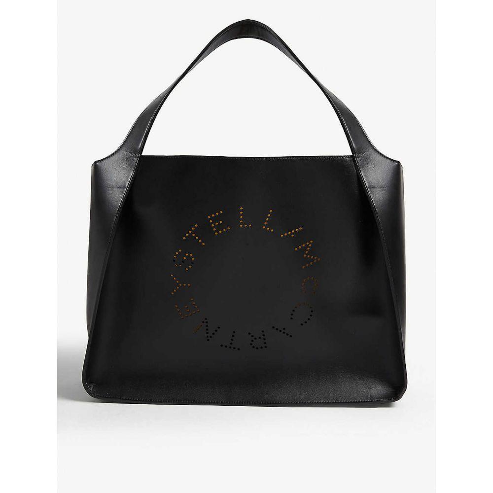ステラ マッカートニー STELLA MCCARTNEY レディース トートバッグ バッグ【Perforated logo small tote】Black