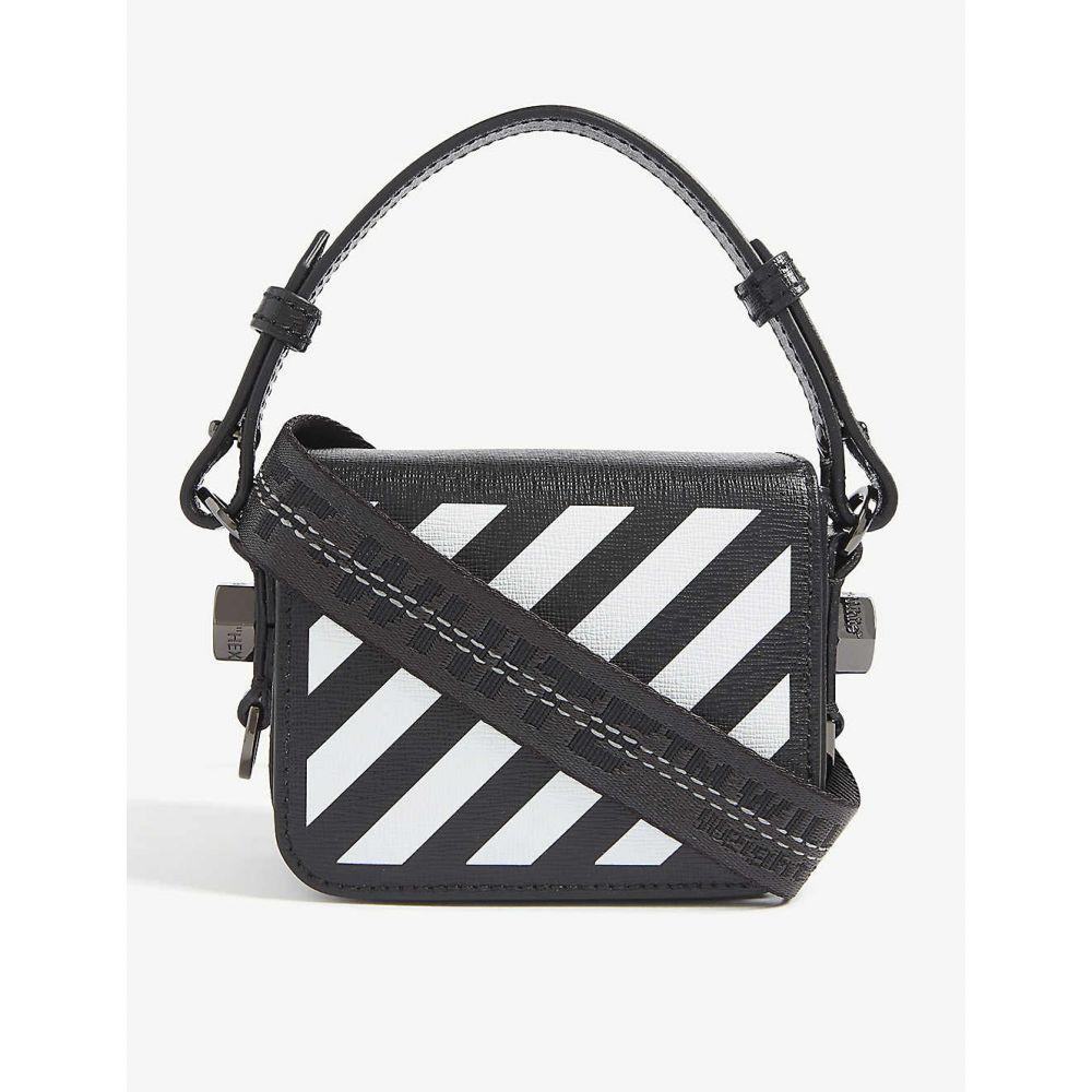 オフホワイト OFF-WHITE C/O VIRGIL ABLOH レディース クラッチバッグ バッグ【Baby flap bag】BLACK WHITE