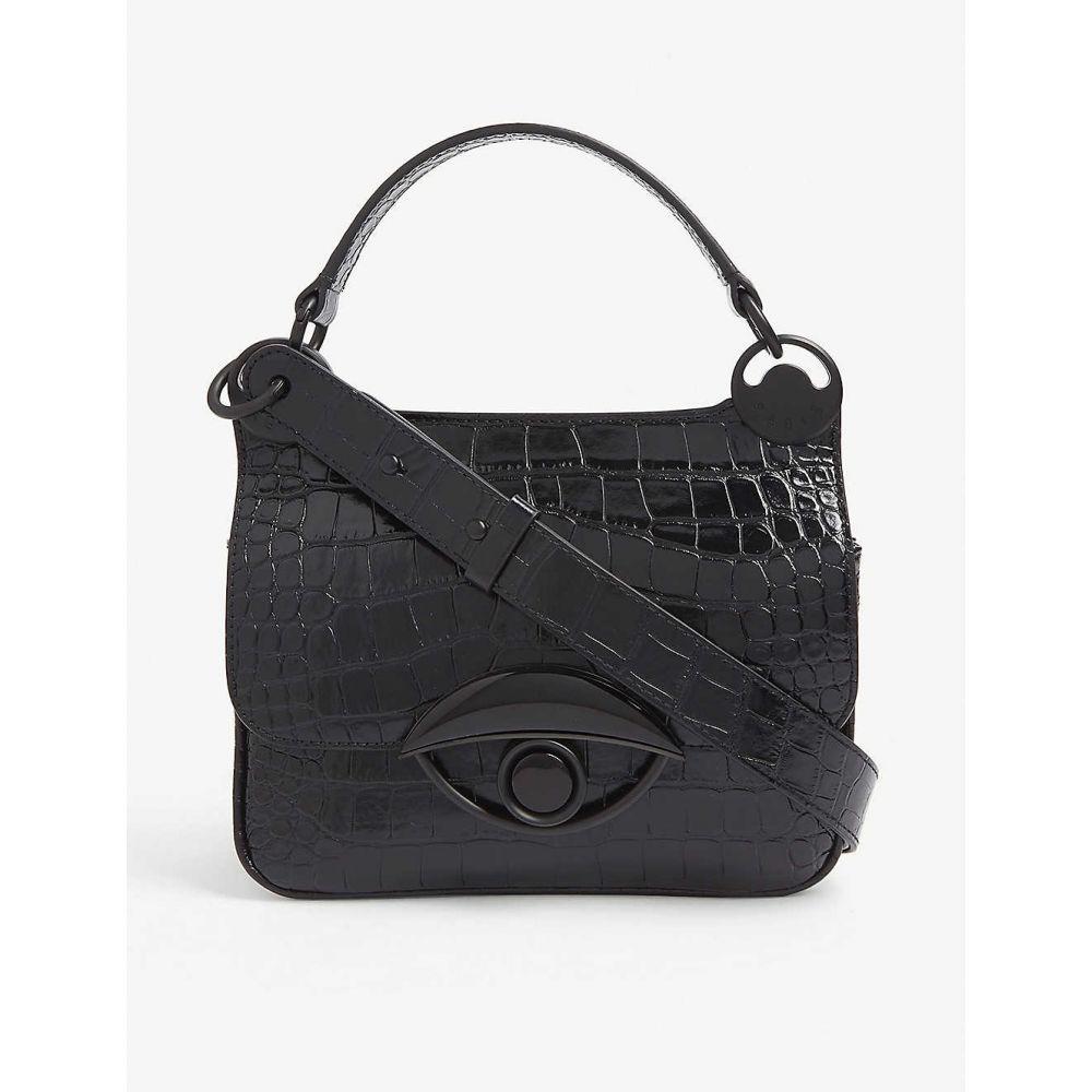 ケンゾー KENZO レディース ショルダーバッグ バッグ【Tali medium leather cross-body bag】BLACK